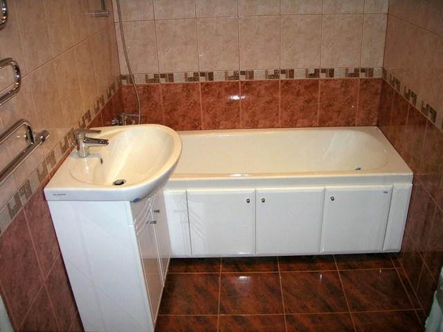 Фото отделки ванной комнаты плиткой своими руками
