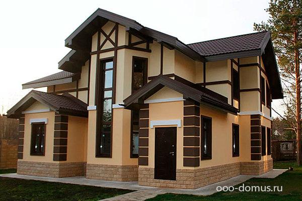 Этапы отделки коттеджа, черновая и чистовая отделка дома