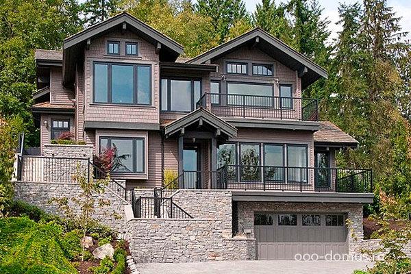 Проекты домов и коттеджей с гаражом