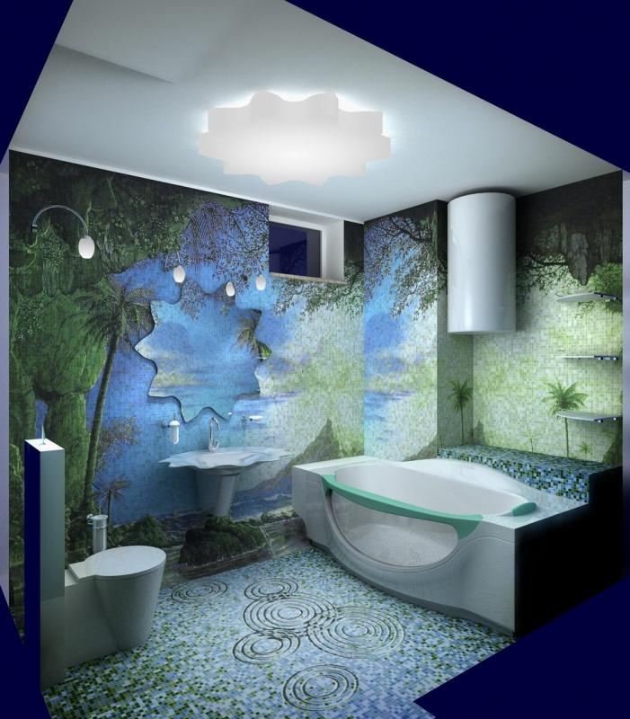 Фото дизайн проектов маленьких ванных комнат