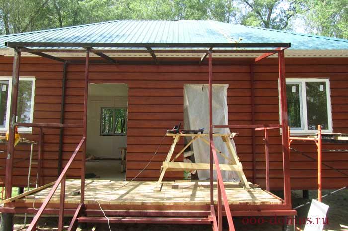 Загородный дом - строительство.